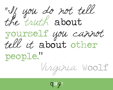 virginia woolf truth